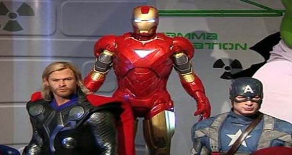 The Avengers al Tussauds