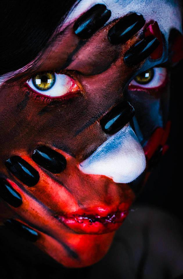 "[""Anxiety"", Eleonora Pace, makeup di Giulia Stronati, foto di Andriy Monastyrskyy]"