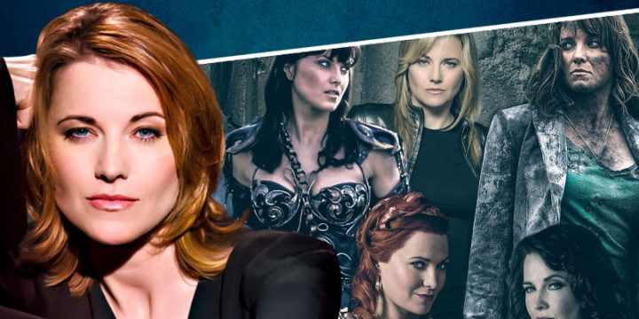 Lucy Lawless a Palermo Comic Convention