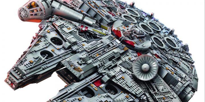Il grandioso Millenium Falcon della Lego