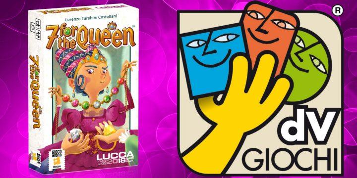 7 for the Queen, vincitore del concorso Gioco Inedito