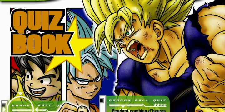 È in arrivo Dragon Ball Quiz Book