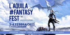 L'Aquila Fantasy Fest '18 – winter edition