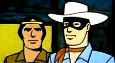 La serie animata di The Lone Ranger