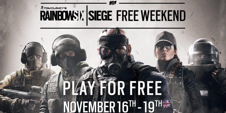 Tom Clancy's Rainbow Six Siege gratis!