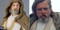 Luke Skywalker, il maestro dei Lego