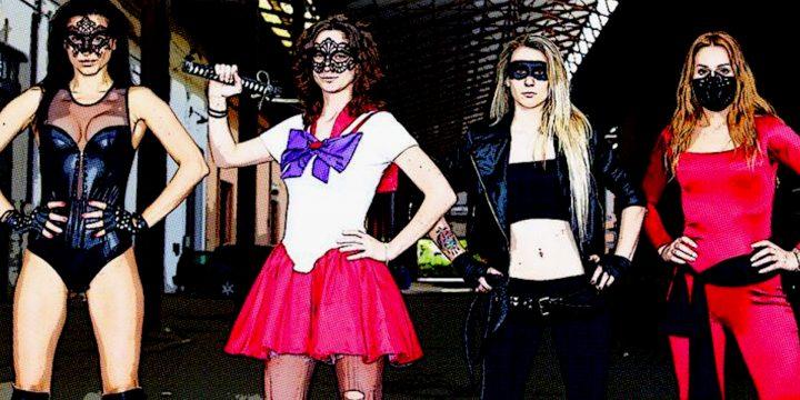 The Cos-fighters: ritornano le avventure delle supereroine nerd