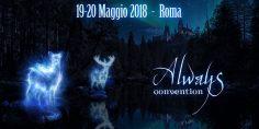 Prime info per la Always Convention – For Harry Potter Fans