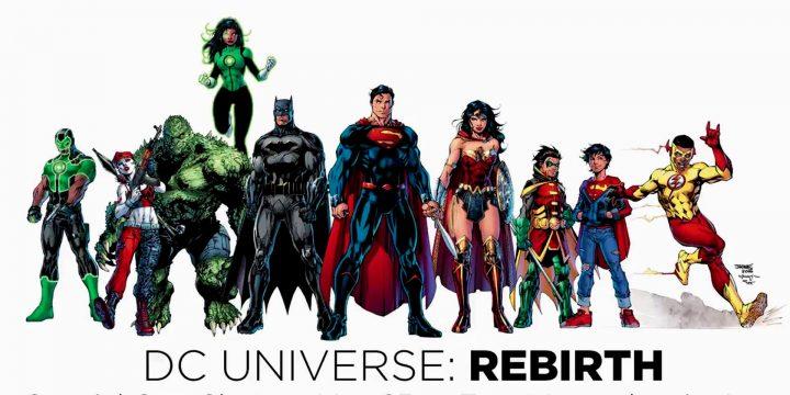 I cofanetti della Rinascita degli eroi DC Comics