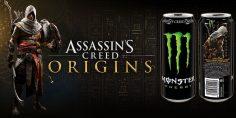 Assassin's Creed Origins e Monster Energy