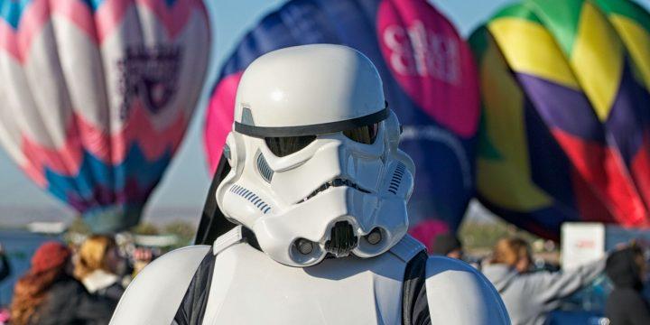 """Star Wars """"in volo"""" al Make Me Run"""