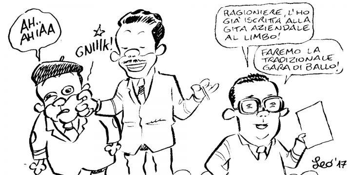 Leo Ortolani saluta Paolo Villaggio
