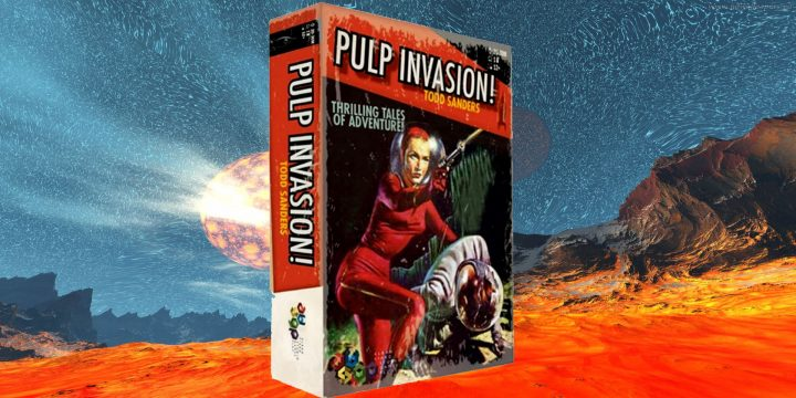 Pulp Invasion su giochistarter!