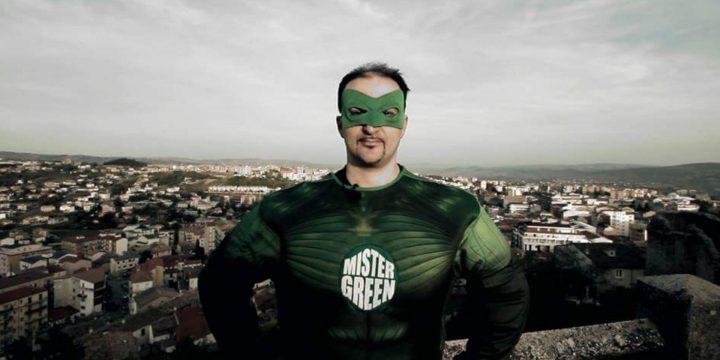 Mister Green, il supereroe del Verde