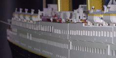 Lo strano affondamento del Titanic Lego