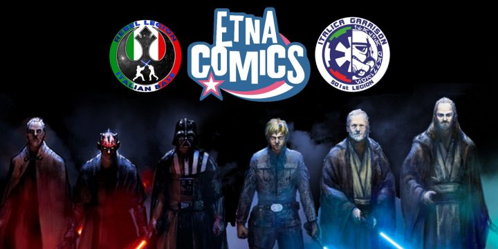 Rebel Legion & 501st a Etna Comics 2017