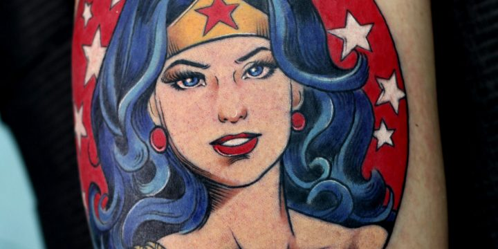 Wonder Woman Tattoo Contest
