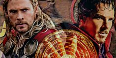 "Doctor Strange in ""Thor: Ragnarok""!"