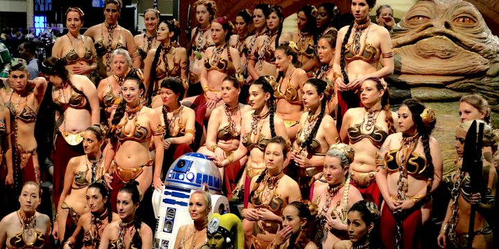 Leia Slave Gathering al Cartoomics