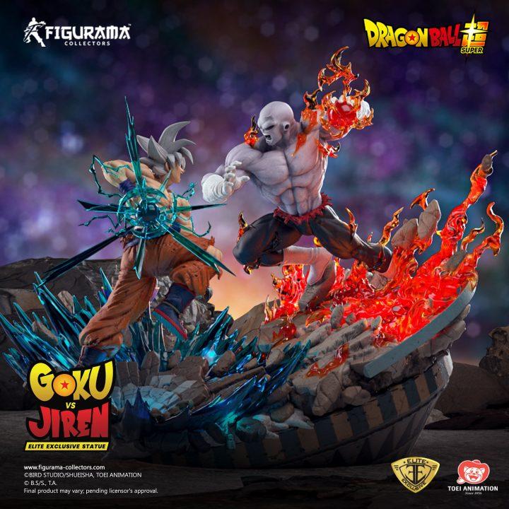 Figurama presente la statua di Goku e Jiren