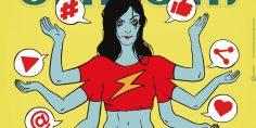 Il manifesto di Comicon 2017: Fumetto & Web