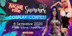 End Summer Cosplay Contest @Arcade & Food