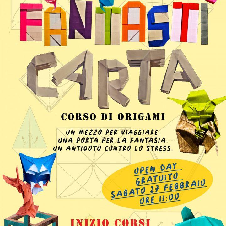 FantastiCarta: Corso di origami