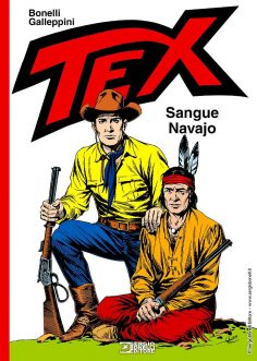 SERGIO BONELLI EDITORE presenta TEX. SANGUE NAVAJO