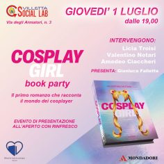 Cosplay Girl Book Party: 01 Luglio 2021