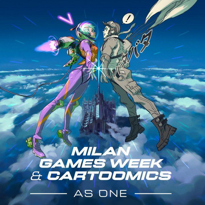 "Milan Games Week & Cartoomics 2021 ""as one"""