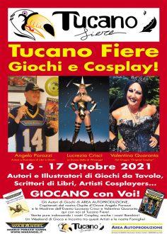 Tucano Giochi e Cosplay: 16 e 17 ottobre 2021