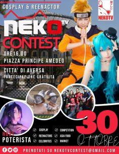 NekoTv Contest: Cosplayer e reenactor