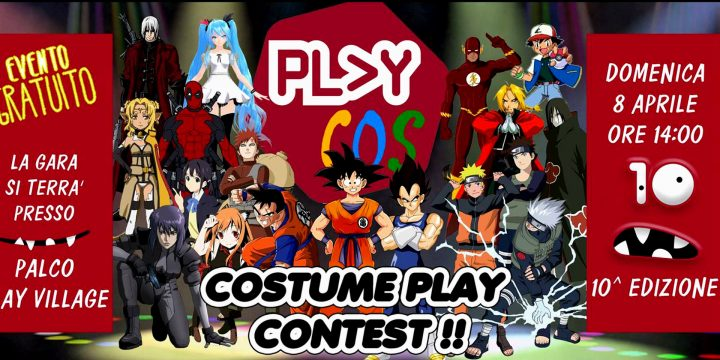 Costume Play Contest 2018 – Play Modena