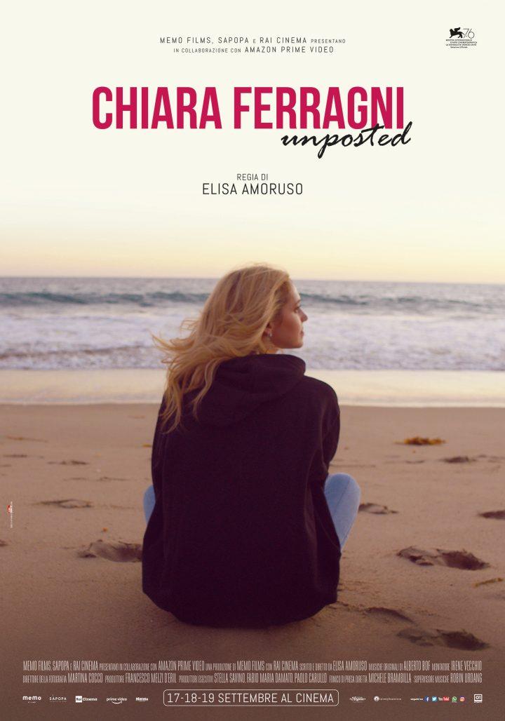 Chiara Ferragni – Unposted a Venezia 76 | Il videodiario della giornata | Al cinema il 17, 18 e 19 settembre