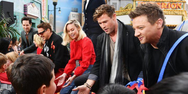 Le star di Avengers & Disney Team of Heroes