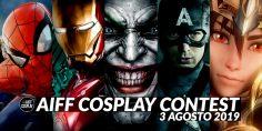 Aiff 2019: Cosplay Contest e non solo!
