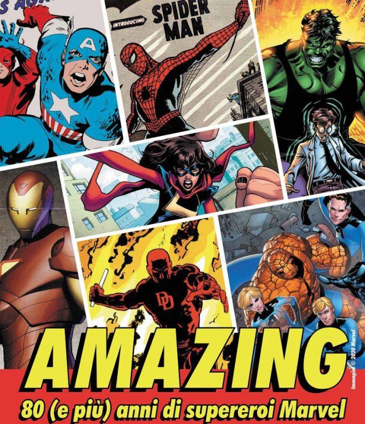 Il Wow riparte con Amazing – 80 e più anni di Supereroi Marvel