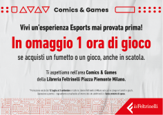Feltrinelli Comics apre l'area Games
