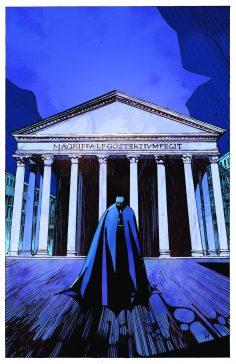 Batman arriva per la prima volta a Roma