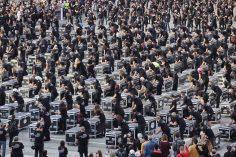 Bauli in Piazza, manifestazione nazionale a Roma