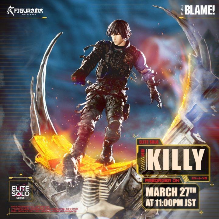 Blame! Killy Elite Solo Statue di Figurama Collectors