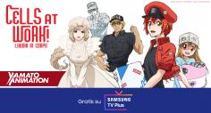 Yamato Animation disponibile  su Samsung TV Plus
