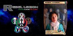 L'omaggio della Rebel Legion Italian Base a Camilla Crippa