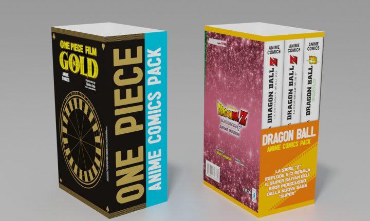DRAGON BALL – ANIME COMICS PACK E ONE PIECE – ANIME COMICS PACK: SCENDONO IN CAMPOI BIG!