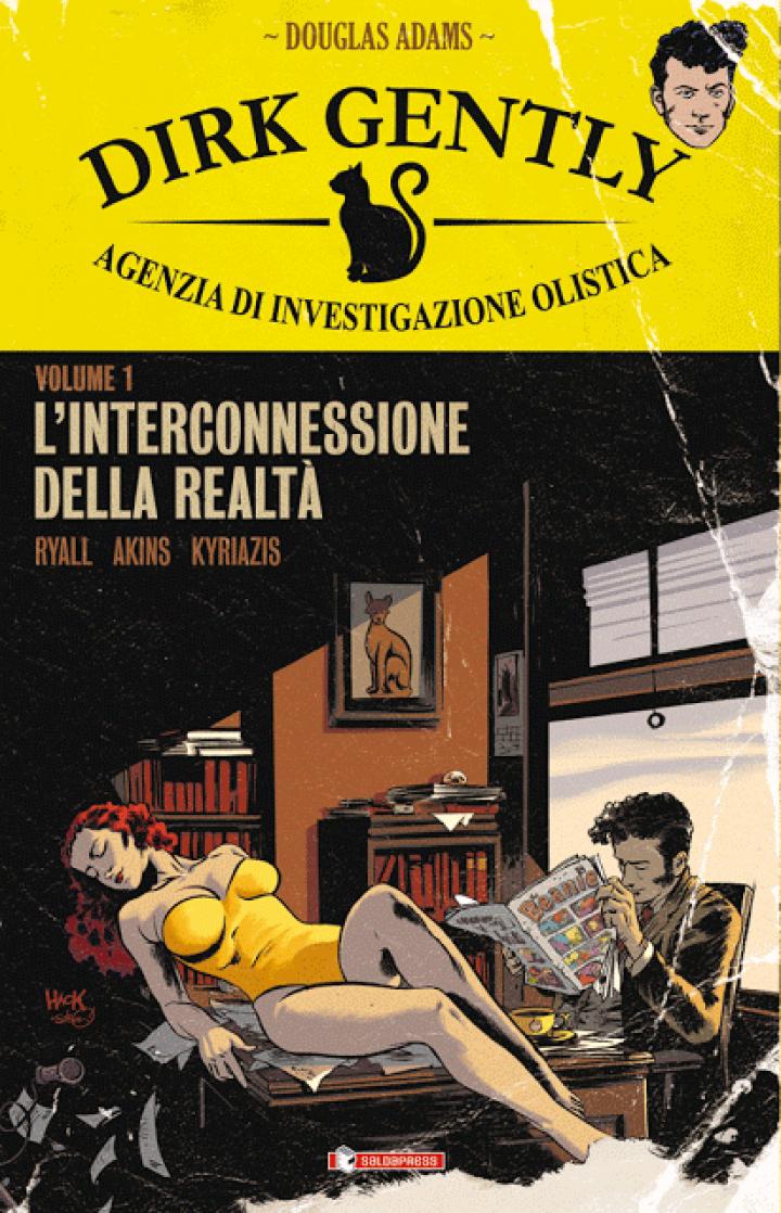 SaldaPress porta in Italia la serie a fumetti di DIRK GENTLY