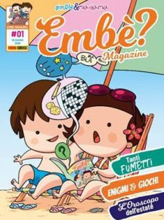 PANINI COMICS presenta EMBÈ? Il magazine di Simple & Madama