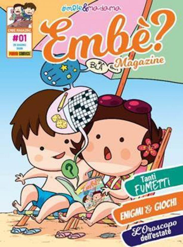 PANINI COMICS presenta EMBÈ? Il magazine di Simple & Madama