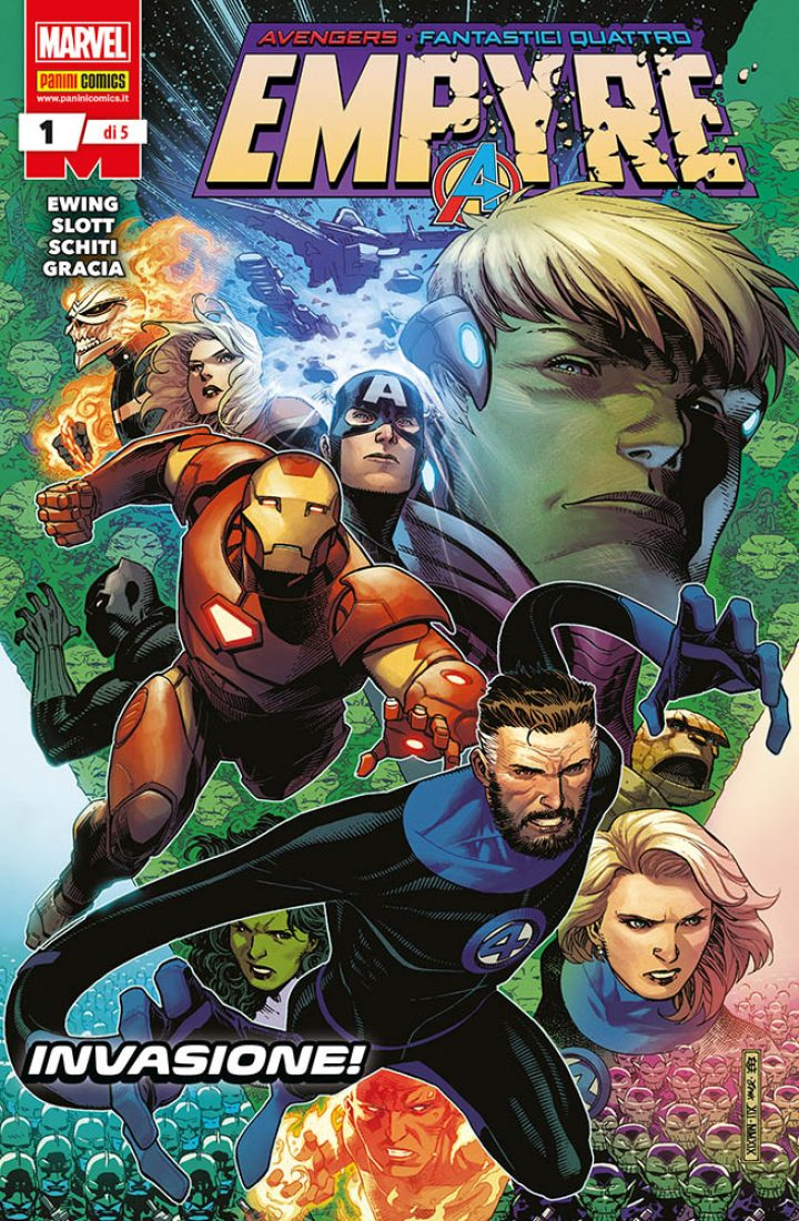 L'evento cosmico Marvel più atteso dell'anno: Empyre!
