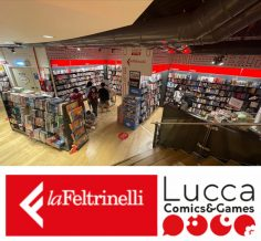 Feltrinelli Comics & Games incontra Lucca Crea
