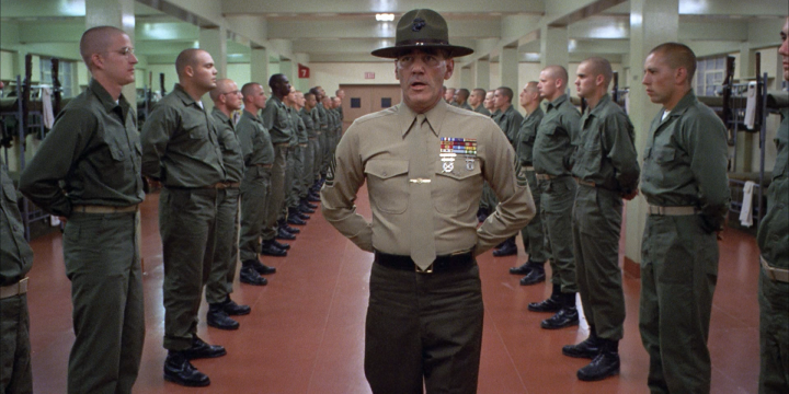 Addio sergente Hartman